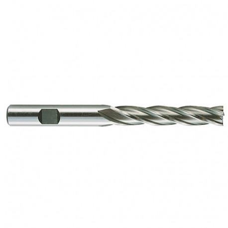 1 Fraise à metaux HSSE DIN 844N D. 25 x Lt. 166 x Lu. 90 mm x Cylindrique - 31160000250 - Hepyc