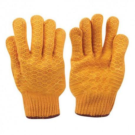 Gants jaunes agrippants Large - 349760 - Silverline