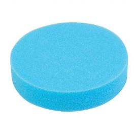 Éponge de polissage bleue D. 180 x 38 mm auto-agrippante tendre - 357302 - Silverline