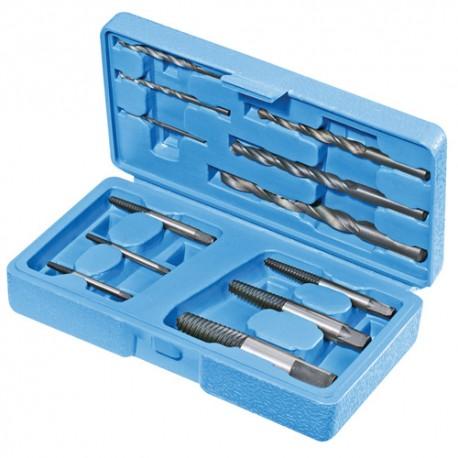 Coffret de 12 extracteurs de vis - 371762 - Silverline