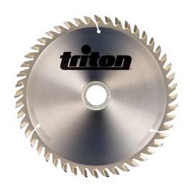Lame de scie carbure D. 165 x 20 mm x Z : 60 dents pour scie plongeante Triton TTS1400 - 372474 - Triton