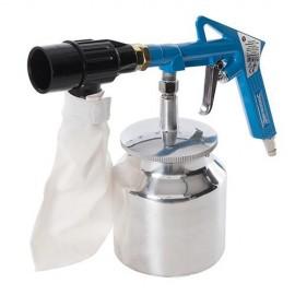 Kit de sablage avec système de récupération d'abrasif 6 pcs 3 – 4 bar - 372673 - Silverline
