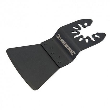 Lame spatule flexible HCS 52 x 49mm pour outil oscillant - 375170 - Silverline