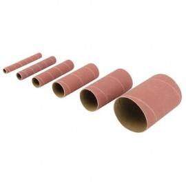 6 manchons de ponçage corindon ponceuse à cylindre oscillant TSPS450 Grain 150 - 378706 - Triton