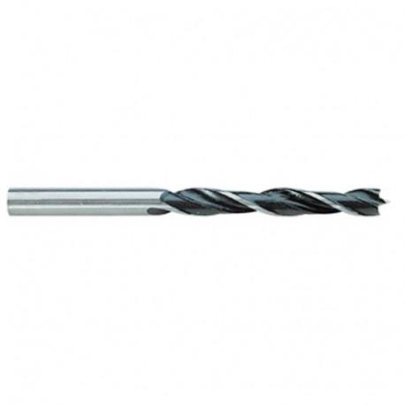 1 mèche à Bois 3P Standard D. 7 x Lt. 105 x Lu. 60 mm x Q. Cylindrique - 13010070010 - Hepyc
