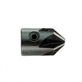 1 Fraise à Bois à trou et à chanfreiner D. 16,00-3,00 x Lt. 25 mm - 13080030016 - Hepyc