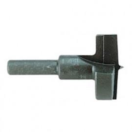 1 mèche à Bois Type Forstner T1 D. 35 x Lt. 57 x Lu. 25 mm x Q. Cylindrique - 13090350000 - Hepyc