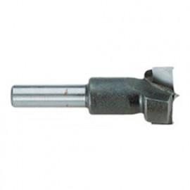 1 mèche à Bois Type Forstner T2 D. 40 x Lt. 57 x Lu. 25 mm x Q. Cylindrique - 13100400000 - Hepyc