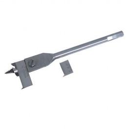 Mèche à bois plate en acier extensible D. 22 à 76 mm - 380646 - Silverline