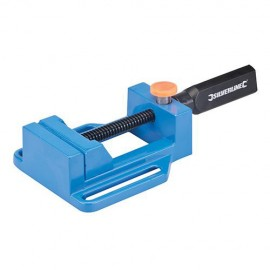 Étau pour perceuse à colonne, serrage max 65 mm - 380677 - Silverline