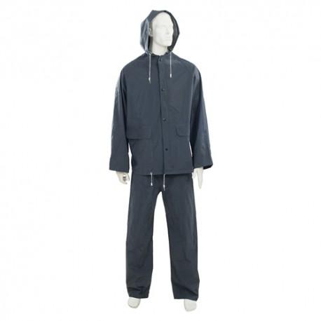 Tenue imperméable bleue, 2 pcs L 74 - 130cm - 380783 - Silverline