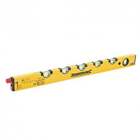 Niveau laser inclinomètre L. 600 mm pour pente des terrasses - 394965 - Silverline