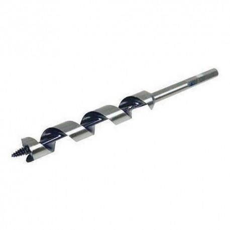 Mèche charpente hélicoïdale en acier D. 32 x 235 mm - 394971 - Silverline