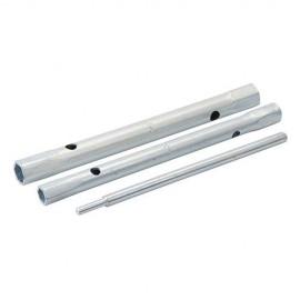 4 clés à tube pour mitigeurs 8/9, 9/11, 10/11 et 12/13 mm - 395020 - Silverline