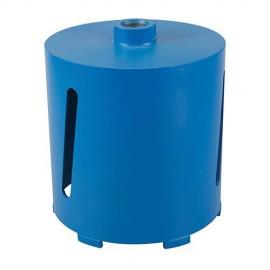 Couronne diamantée perforateur D. 152 pour matériaux de construction Lu 150 mm - 406549 - Silverline