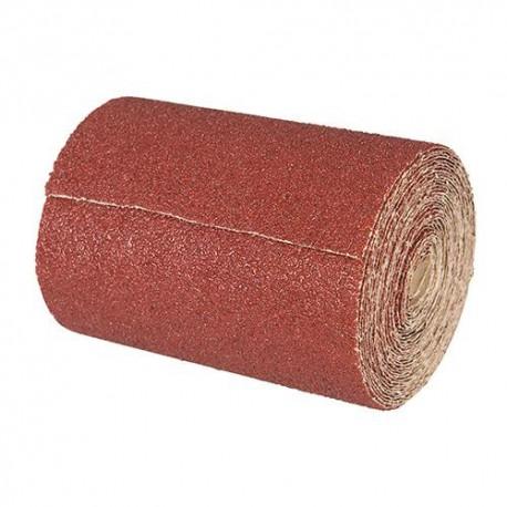 Rouleau papier abrasif corindon 115 mm x 10 M Grain 60 - 415650 - Silverline