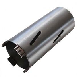 Couronne diamantée pour perfo SDSet D. 127 x Lu. 170 x Ht. 10 x ép. 3,5 mm. Brique, béton cellulaire, siporex - 5216127 - LEMAN
