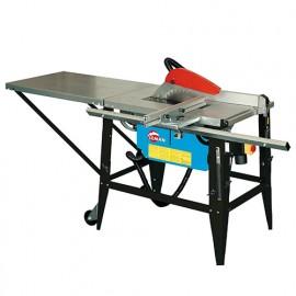 Scie sur table de chantier bois D. 315 mm - 230V - 2200W à chariot - LOSST315 - LEMAN