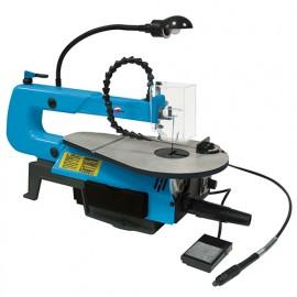 Scie à chantourner avec pédale 400mm 230V - 90W - SAC407 - LEMAN