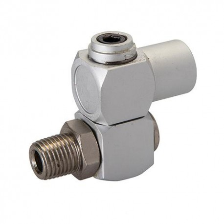 Connecteur joint articulé pour tuyau air comprimé 1/4