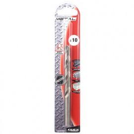 Foret à metaux HSS PRO D. 10 mm. Anti-glisse. Pour acier dur - 068100150 - Guex