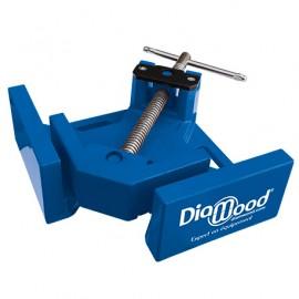 Etau d'angle 95 x 70 mm à vis et serrage double pivot - Diamwood