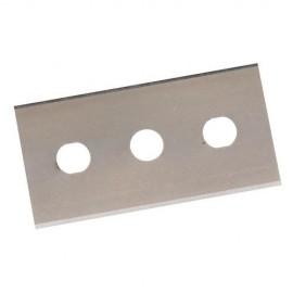 10 lames double extrémité pour grattoir 0,2 mm - 427668 - Silverline
