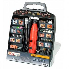 Outil électrique multi-usages 135 W 230 V + accessoires en mallette - PROMKIT300 - Ribitech