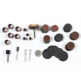 Lot de 232 accessoires de ponçage et ébarbage pour PROMKIT300 - PROMPON - Ribitech