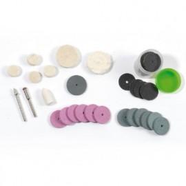 Lot de 20 accessoires de polissage et nettoyage pour PROMKIT300 - PROMMPL - Ribitech