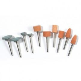 Lot de 10 outils de meulage et affutage pour PROMKIT300 - PROMMEB - Ribitech