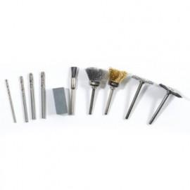 Lot de 10 outils de brossage et perçage pour PROMKIT300 - PROMBRO - Ribitech