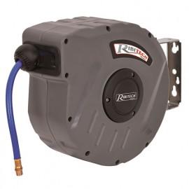 Dévidoir automatique à air 9 m - 8 x 12 mm tuyau PVC - PRDATR091 - Ribitech
