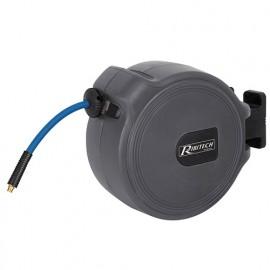 Dévidoir automatique à air 20 m - 9,3 x 15,3 mm tuyau gomme/pvc - PRDATR201 - Ribitech