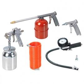 Lot de 5 accessoires à air comprimé - PRWA100010/OF - Ribitech