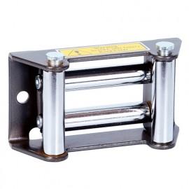 Guide câble à rouleaux 128 x 70 mm - PE12VGD - Ribitech