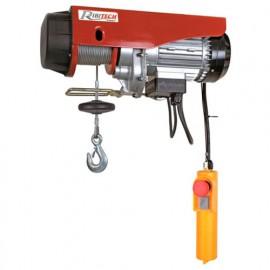Palan électrique avec poulie de mouflage 500 kg - 9 mètres - 1020 W 230 V - PE250/500C - Ribitech