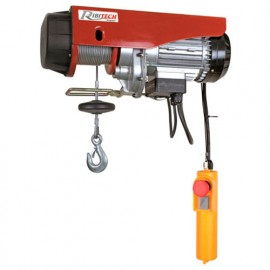 Palan électrique avec poulie de mouflage 600 kg - 9 mètres - 1200 W 230 V - PE300/600C - Ribitech