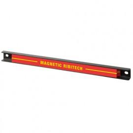 Barre magnétique 30 cm pour outils brico, jardin, cuisine - PRSBM30 - Ribitech