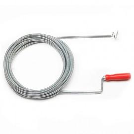 Déboucheur de canalisation 10 mètres + crochet - PRFD100C - Ribitech