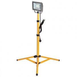 Projecteur à LED 30 W 230 V - 2250 lumens sur trépied télescopique - PRSPOT32TTP - Ribitech