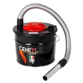 Aspirateur à cendres électrique CENETI 800 W - 230 V, bidon 15 L - PRCEN009 - Ribitech