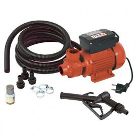 Kit pompe gasoil complet 350 W 230 V, crépine laiton - PRKG115A - Ribitech