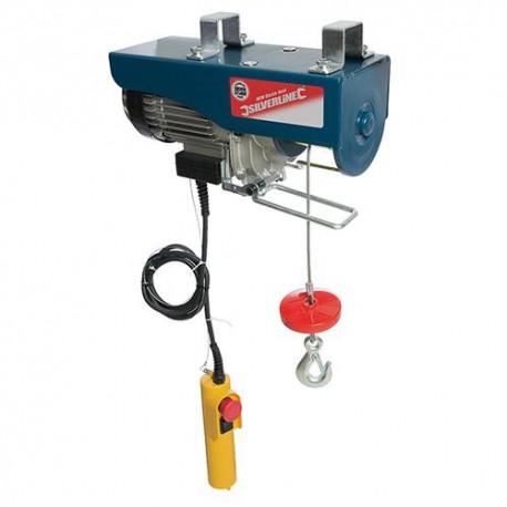 Palan électrique 900 W 500kg / hauteur de levage max 12 M Silverline - 442463 - Silverline