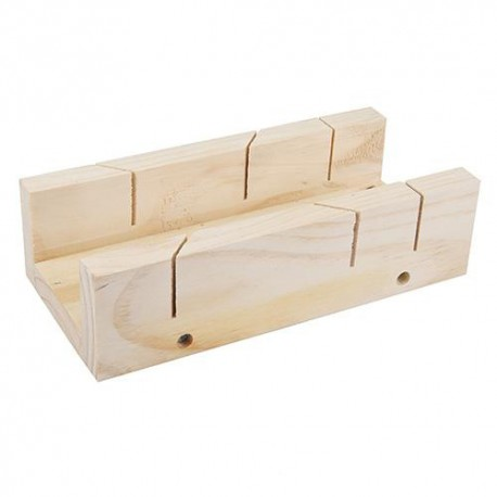 Boîte à onglets bois 250 x 85 mm - 447130 - Silverline
