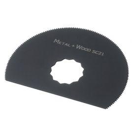Lame segment de scie oscillante SuperCut HSS D. 80 mm 18 TPI - Bois et plastique - ZOS00121 - Labor