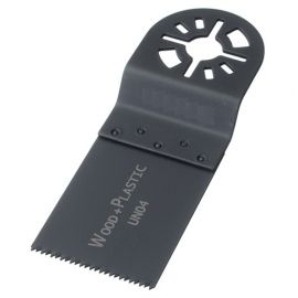 115 lames de scie oscillante universelle HCS 34 x 40 x 0,6 mm 19 TPI - Bois et plastique - ZOU00024 - Labor