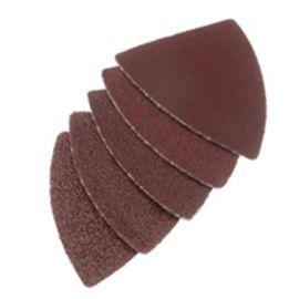 20 feuilles abrasives auto-agrippantes 36 x 50 mm Gr. 80 type finger pour outils oscillants - ZOU00242 - Labor
