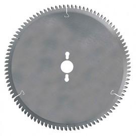 Lame carbure D. 300 x Al. 30 mm. x 72 dents neg. tp. Pour métaux non-ferreux - 110.300.3072 - Leman