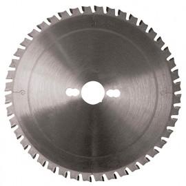 Lame carbure D. 250 x Al. 30 mm. x 48 dents. Spéciale métaux - 120.250.3048 - Leman